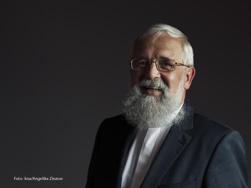 Der Magdeburger Bischof Gerhard Feige. Foto:kna/Angelika Zinzow