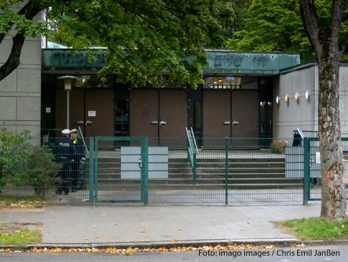 In dieser Hamburger Synagoge ist ein Student angegriffen worden.