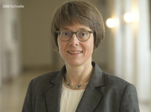 Beate Gilles ist die neue Generalsekretärin der Deutschen Bischofskonferenz.