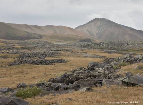 Die Region Berg-Karabach in Aserbaidschan