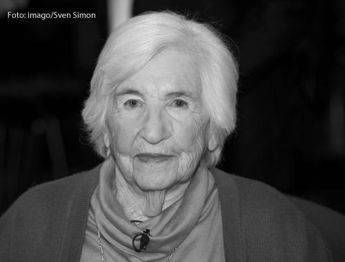 Die Holocaust-Überlebende Esther Bejarano, die im Alter von 96 Jahren gestorben ist.