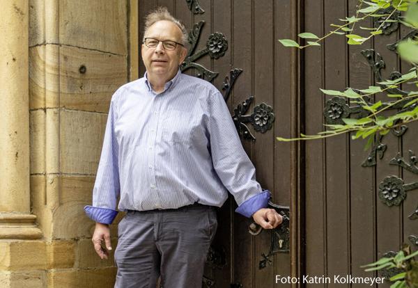 äTrotz allem in der Kirche engagiert: Christoph Geffert
