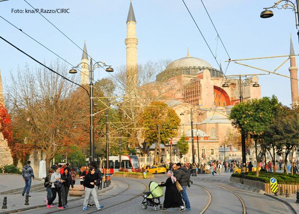 Die Hagia Sophia in Istanbul soll zur Moschee werden.