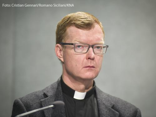 Der Jesuit Hans Zollner leitet das Päpstliche Kinderschutzzentrum CCP.