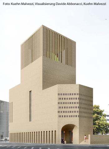 So soll das House of One in Berlin aussehen.