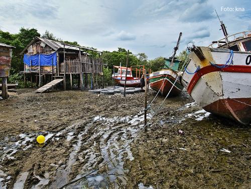 Trockene Flüsse im Bundesstaat Amazonas, in der Nähe von Manaus