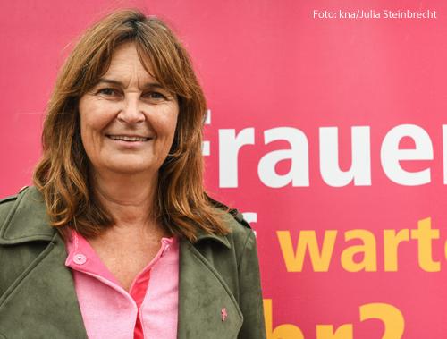 Mecthild Heil, die Bundesvorsitzende der Katholischen Frauengemeinschaft Deutschlands