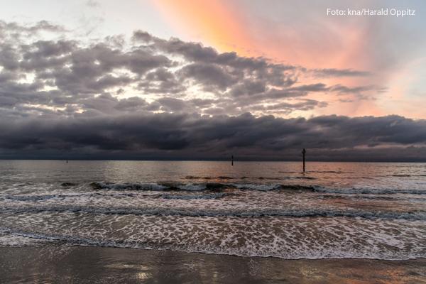 Ein Strand auf Norderney