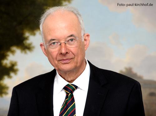 Paul Kirchhof (78) war von 1987 bis 1999 Richter des Bundesverfassungsgerichts.