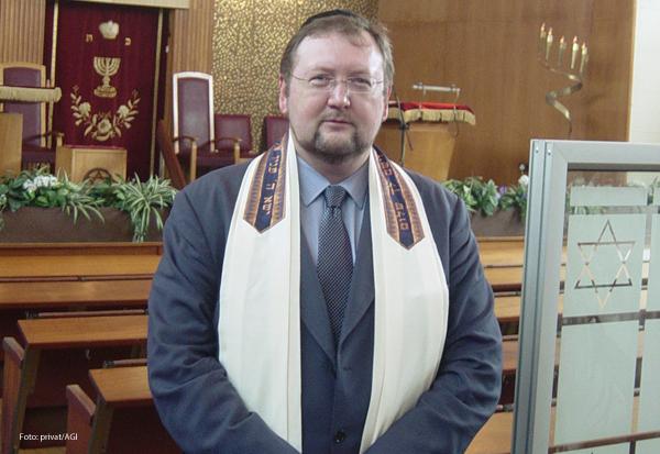 Walter Homolka ist Rabbiner, Rektor des Abraham-Geiger-Instituts und Professor an der School of Jewish Theology der Uni Potsdam.