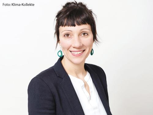 Sina Brod, Geschäftsführerin der Klima-Kollekte