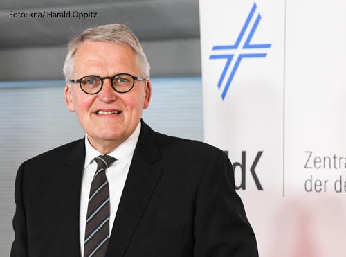 Thomas Sternberg ist Vorsitzender des Zentralkomitees der deutschen Katholiken.
