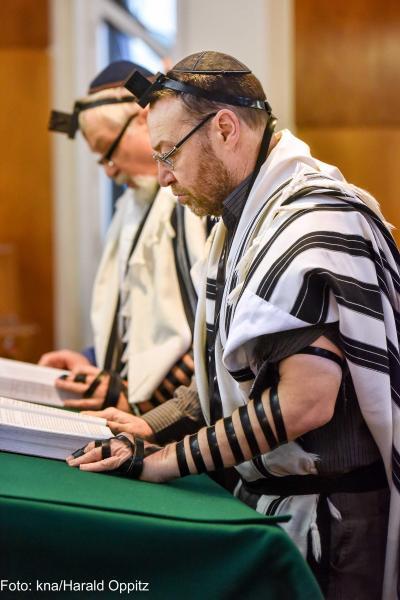 Ein betender Jude