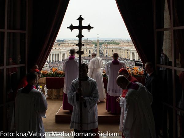 Foto: kna/Vatican Media/Romano Siciliani