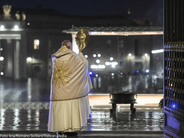Foto: kna/Romano Siciliani/Vatican Media