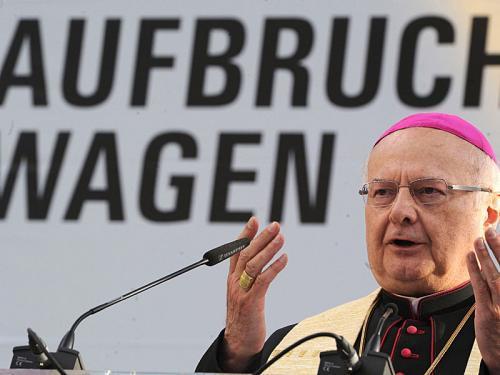 Erzbischof Zollitsch bei der Eröffnung des Katholikentags