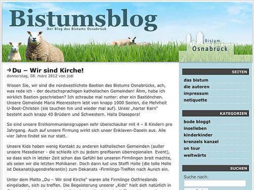 Startseite Bistumsblog
