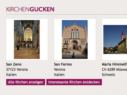 Vorgestellte Kirchen