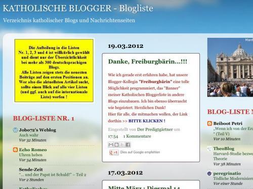 Katholische Blogliste