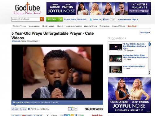 Der predigende Fünfjährige
